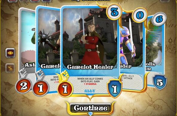 Camelot Healer Screenshot