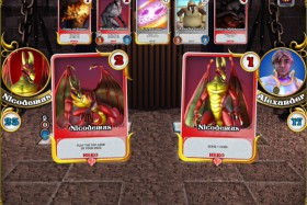 Battle Arena Hero Cards Screenshot