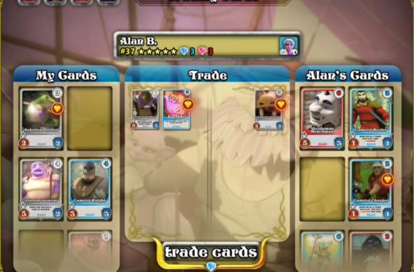 Trading Cards Screenshot